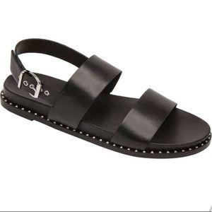 Linea Paola Reid Studded leather Sandals